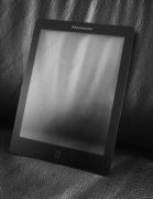 AG frosted glass tablet display